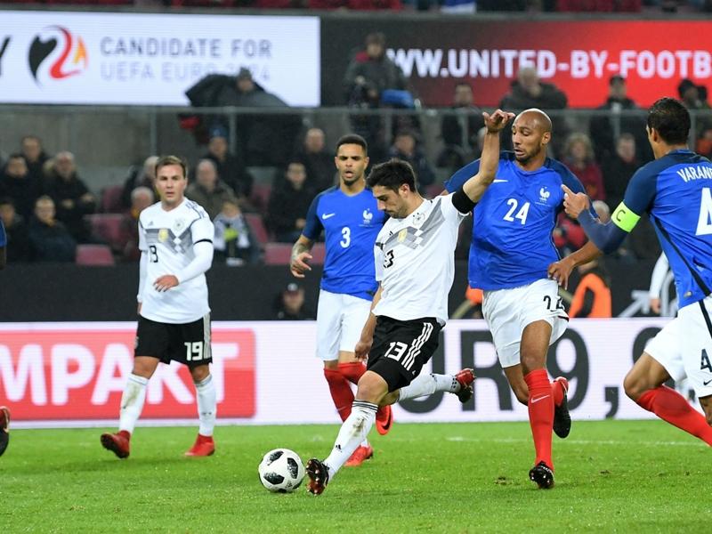 Germany 2 France 2: Late Stindl strike extends world champions' unbeaten run