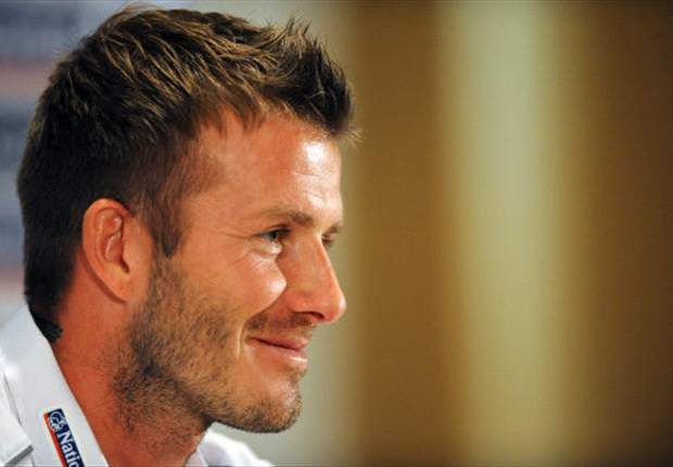 LA Galaxy Star Beckham: Milan Are My First Choice