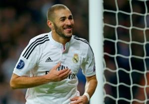 Benzema é o único jogador que marcou nas primeiras quatro rodadas da fase de grupos nesta temporada da Champions.