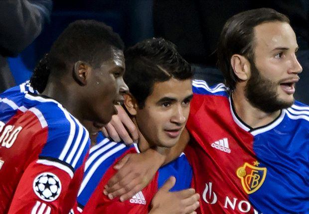 Basel 4-0 Ludogorets: Swiss side stroll to victory