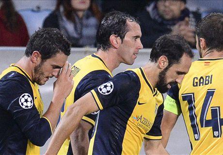 Player Ratings: Malmo 0-2 Atletico Madrid