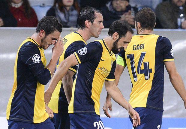 Malmo 0-2 Atletico Madrid: Koke and Raul Garcia send Rojiblancos six points clear