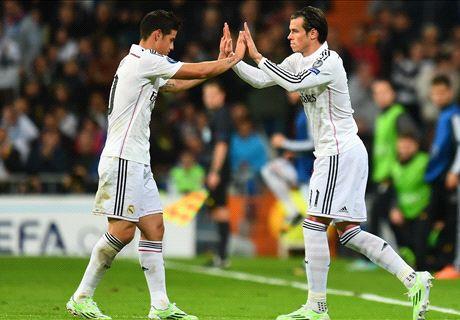 ¿James, Bale o Isco?