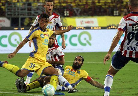 Kerala ATK share spoils in ISL IV opener