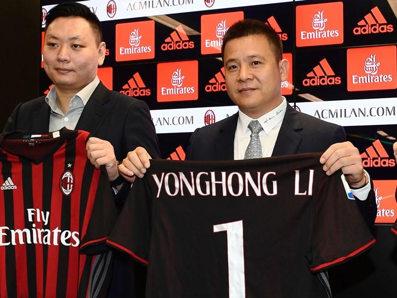 Milan, Yonghong Li nei guai: indagato per falso in bilancio
