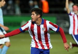 Diego Gama tiene 22 años y actualmente juega para el Atlético de Madrid en la segunda división de España.