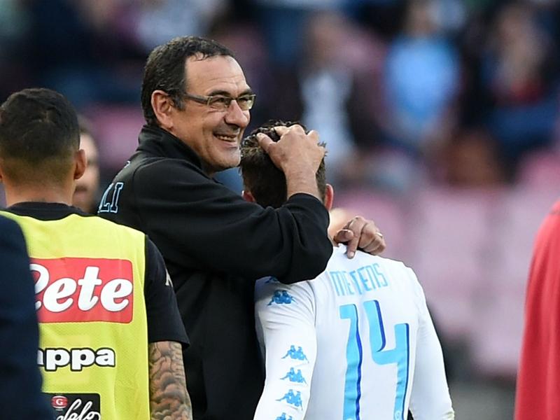 Mertens: Sarri's tactics are Napoli's 12th man