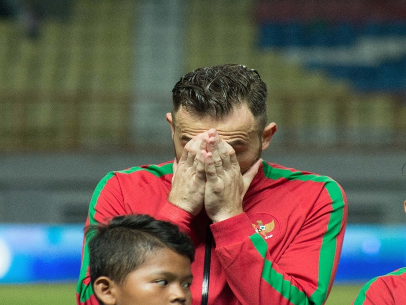 Debut Timnas Indonesia Berakhir Kalah, Ilija Spasojevic Minta Maaf