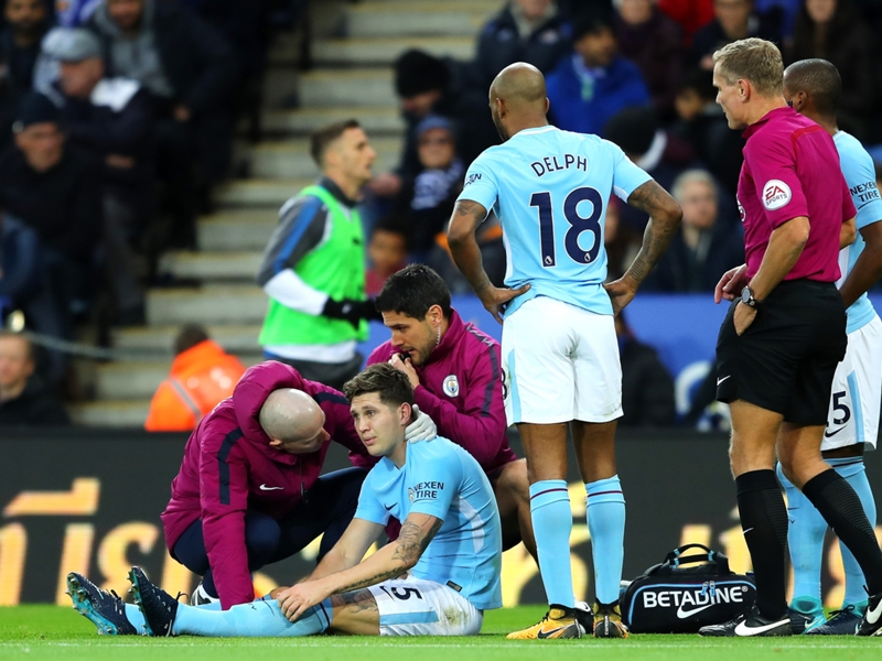 Manchester City, Stones absent 4 à 6 semaines
