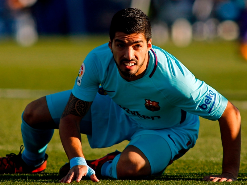 Bad news for Barcelona's rivals, Suarez has his bite back!