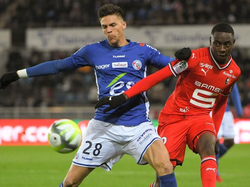 Strasbourg-Rennes 2-1, Strasbourg gâche la première de Lamouchi