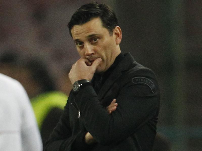 """Milan, Montella ammette: """"Mirabelli era contrariato, ora due gare decisive"""""""