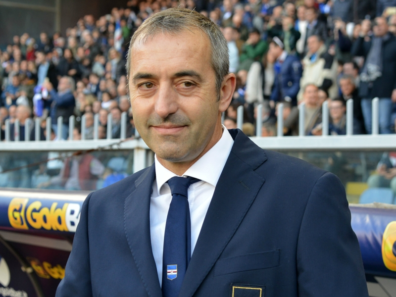 Giampaolo promises more from Sampdoria after Juventus upset