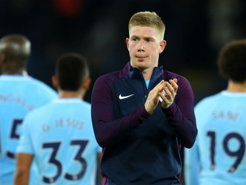 City style suits me and thrills neutrals, says De Bruyne