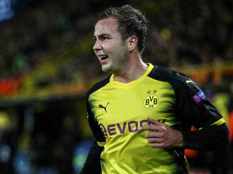 Watch out, Gotze's about! Super Mario is getting back to his best