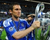 Frank Lampard with the Champions League trophy