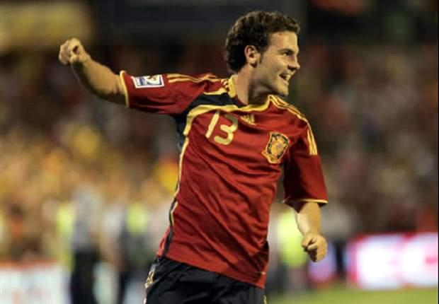 Ukraine Under-21s 0-3 Spain Under-21s: Adrian & Mata set up Belarus date in semi-finals