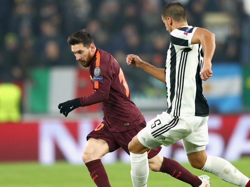 Juventus 0 Barcelona 0: Messi benched but Valverde's men in last 16