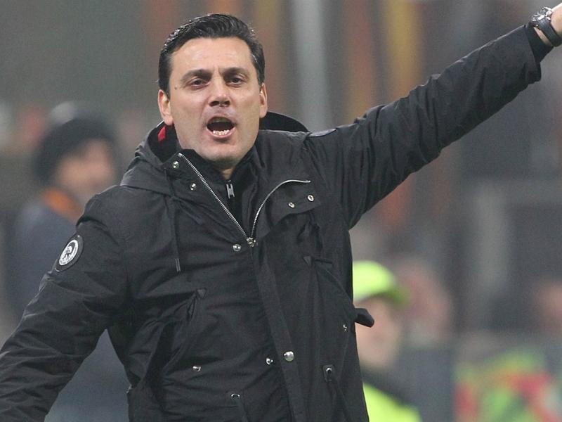 """Milan, Montella non si esalta: """"Mini obiettivo raggiunto, adesso c'è da risalire in campionato"""""""