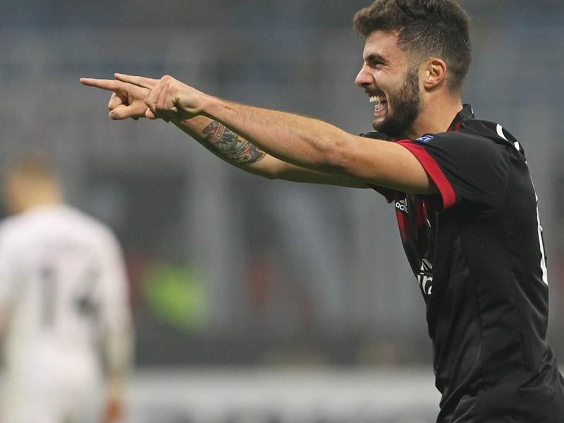 Auteur d'un doublé avec l'AC Milan, Cutrone fait mieux que Kalinic et Andrè Silva