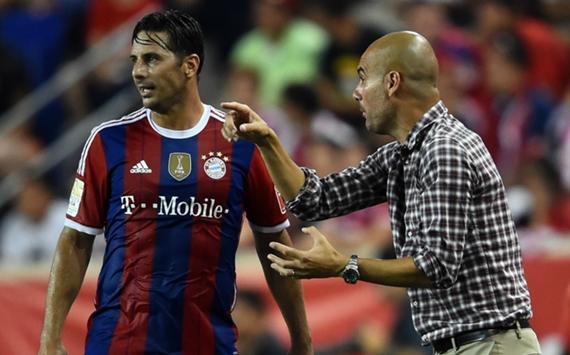 Pizarro fehlt Bayern wochenlang