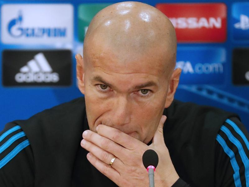 """Ligue des champions - Zidane : """"Contre le PSG, ce sera du 50/50"""""""