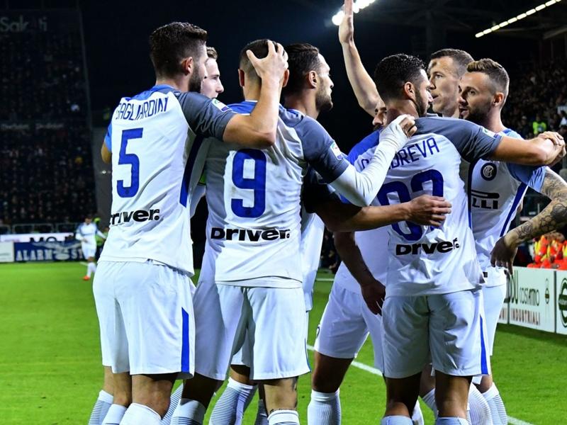 Cagliari-Inter 1-3: Doppio Icardi e Brozovic, i nerazzurri balzano in vetta