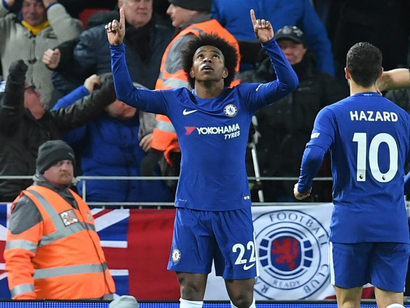 Willian defends Liverpool equaliser: 'It was a shot, no doubt!'