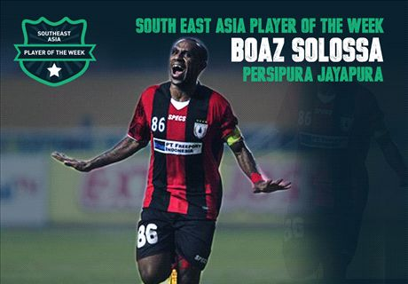 Goal SEA Player of the Week: Boaz Solossa