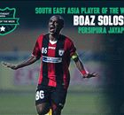 Pemain Terbaik Asia Tenggara (27 Okt - 4 Nov): Boaz
