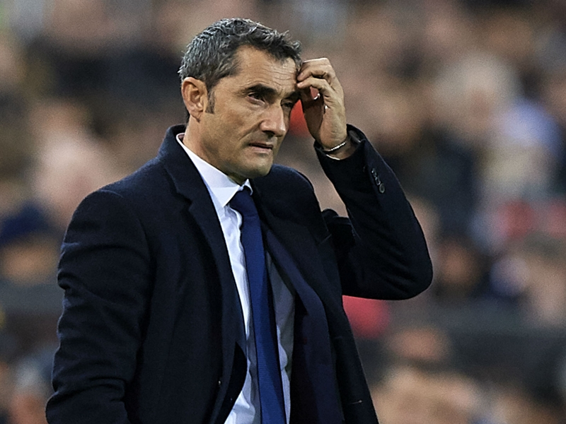 """Barcelone - Ernesto Valverde : """"Un beau match à jouer"""" contre Chelsea"""