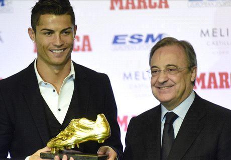 Ballon d'Or, Perez s'est expliqué avec Platini au sujet de Ronaldo