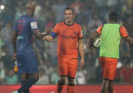 India, Del Piero ko sotto i colpi di Anelka