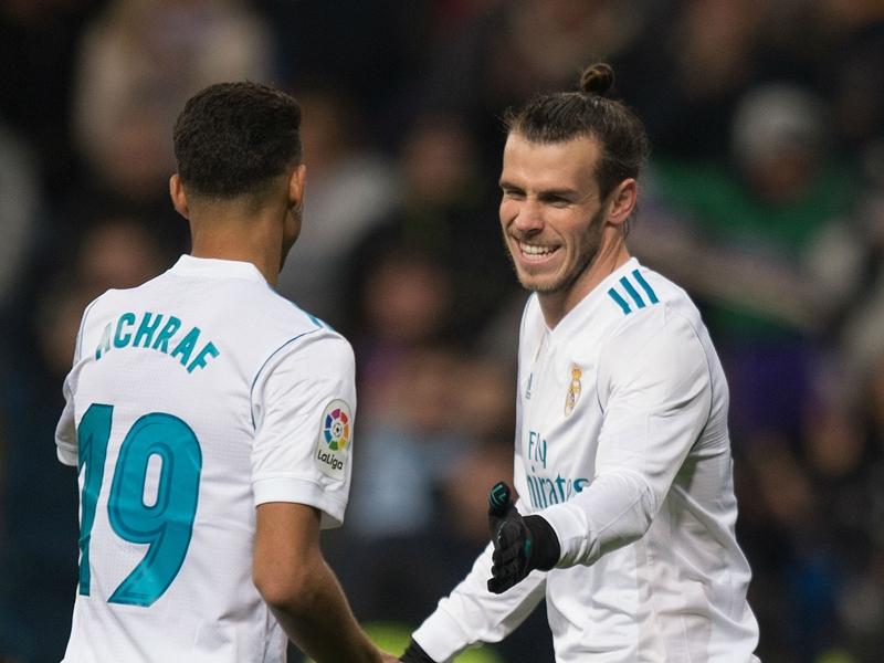 Real Madrid, Gareth Bale s'est entraîné