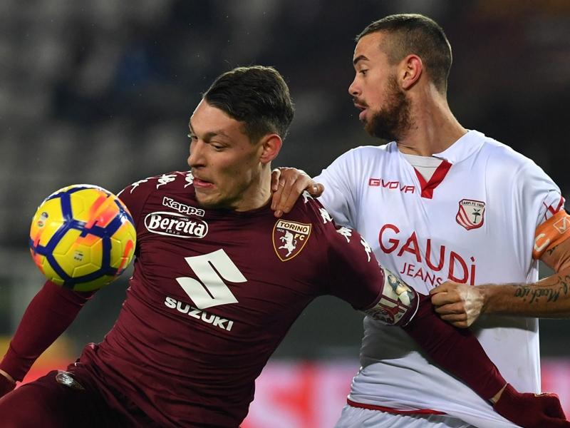 Torino-Carpi 2-0: Falque e Belotti, granata agli ottavi