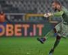 Il tiro di Milinkovic che ha sfiorato il goal