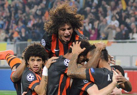 Champions League: Shakhtar 5-0 BATE