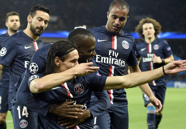 Paris Saint-Germain 1-0 APOEL: Cavani again the difference as French champions go through