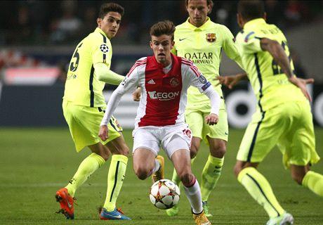 Andersen, Serero en Klaassen fit bij Ajax