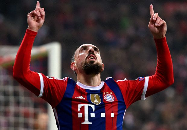 Bayern Munich 2-0 Roma: Ribery and Gotze seal Group E progress