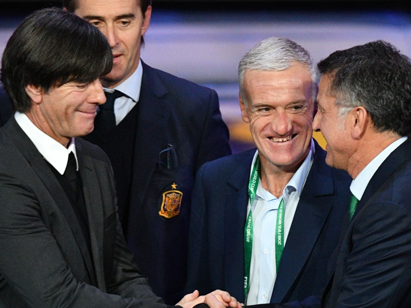 Mexico drawn into World Cup Group F with Germany, Sweden and South Korea