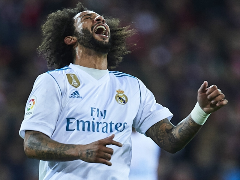 Real Madrid fear 'really bad news' on Marcelo after injury against Betis