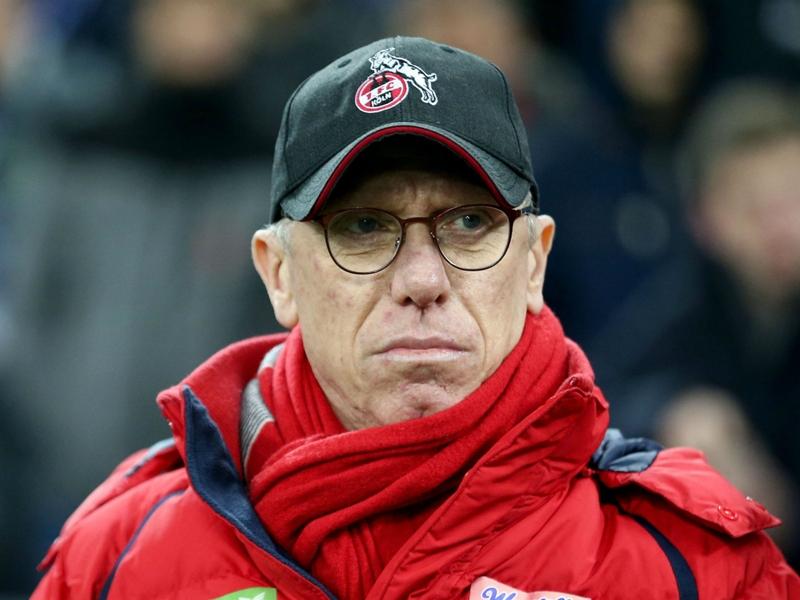 Stoger sacked by Bundesliga strugglers Cologne after 14-game winless streak