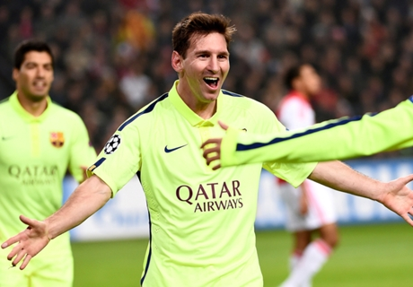 Gallery: Messi levels CL goal record