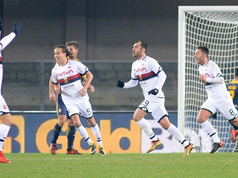 Verona-Genoa 0-1: Pandev gela il Bentegodi, altro squillo del Grifone