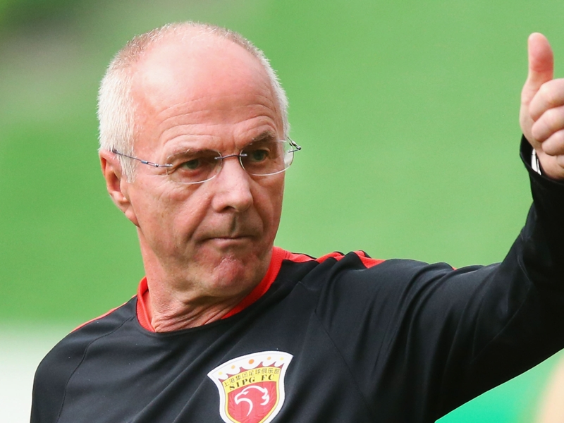 Sven-Goran Eriksson says he is interested in becoming Socceroos coach