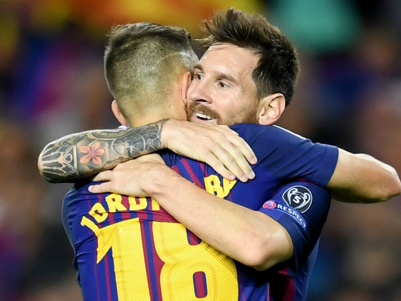 Barcelona's new Dani Alves: How Jordi Alba became Messi's new main man