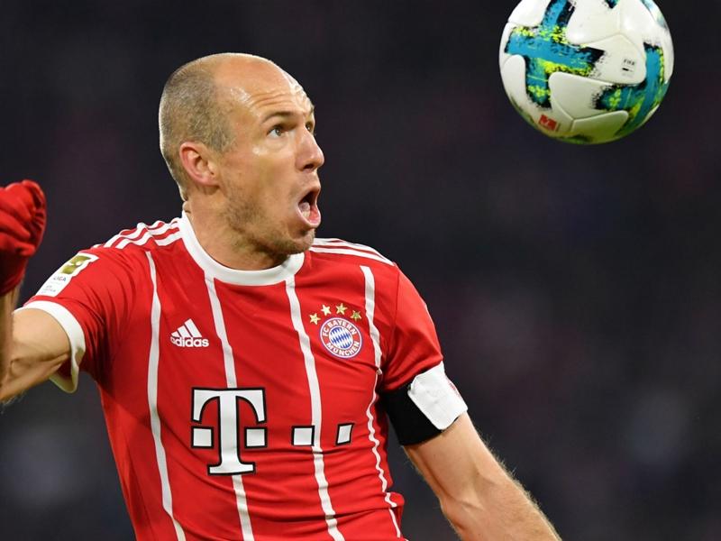 Robben: Bayern felt like a step backwards after Real Madrid