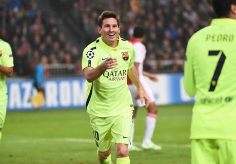 Messi y Koke, en el XI ideal UEFA