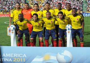 Colombia Copa América 2011